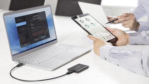 SAMSUNG 2TB T5 USB 3.1 Type C