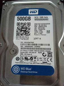 Hard disk WD 500 GB