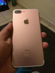 iPhone 7   Plus 128 GB Rose Gold - Kutija