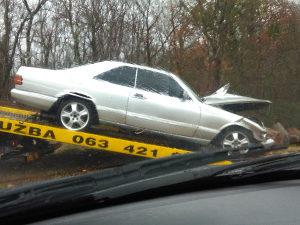 Mercedes 126 sec