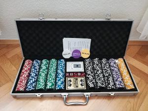 Poker Čipovi Set Ocean Chip 500