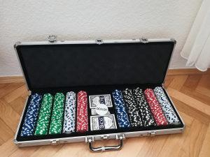 Poker Čipovi Set Chipovi 500