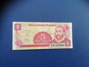 Novčanice NIKARAGVA--UNC