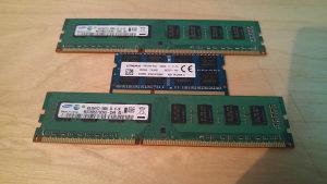 Ram memorija (1x8 & 2x4) laptop l desktop