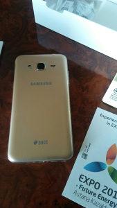 Samsung Galaxy J3 Duos Zlatni