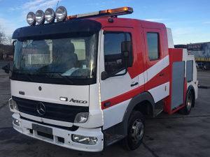Mercedes Atego 815 kamion za vucu kombi truck tegljac