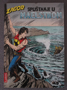 Zagor 163 - Spuštanje u Maelstrom (Ludens)