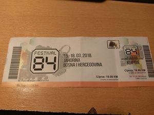 Festival 84 karta za sva tri dana