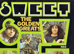 SWEET-THE GOLDEN GREATS lp