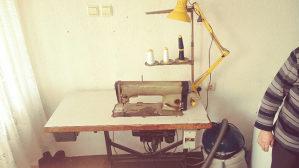 Bojler pećica mašina za šivenje