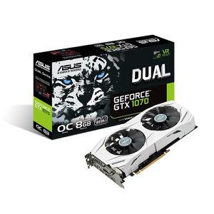 ASUS DUAL-GTX 1070-O8G OC, GeForce GTX 1070 8GB GDDR5