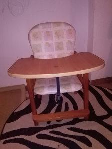 Sjedalica ujedno i hranilica za bebe