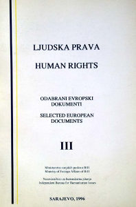 Ljudska prava Human rights - Pravo