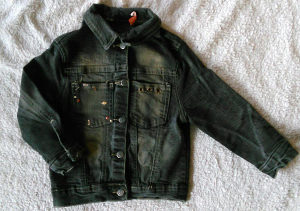 Jeans jaknica 98 puna lasteksa