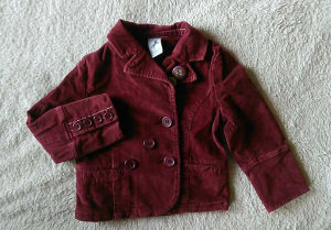 predivna C&A jaknica/sako 98, sitni somot