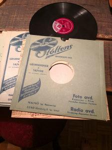 Stare bakalitne gramofonske ploče