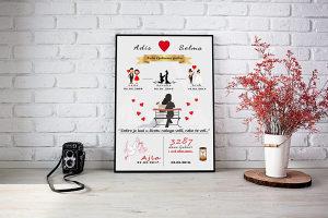 Poklon poster dizajn