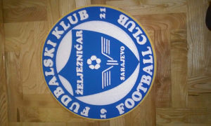 3D grb FK Željezničar od stiropora