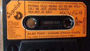 audio kaseta RAJKO TOMIĆ
