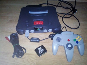 Nintendo 64 plus expansion pack