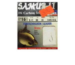 Udice za ribolov - vezane - Samurai Brasse - vel.16