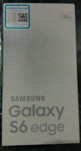 Galaxy S6 Edge 32GB G925F NOV 066 747 572 SAMO PRODAJA