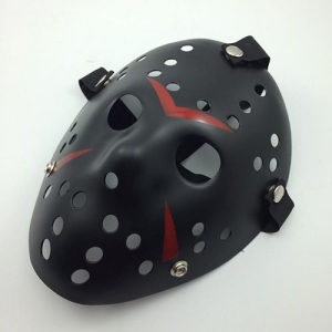Petak 13 maska Jason maska halloween crna