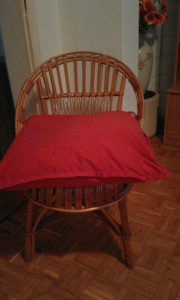 Pletene stolice..kom×2
