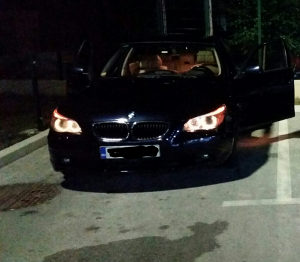 BMW e60 UDAREN