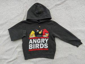 H&M Angry Birds dukserica 110/116