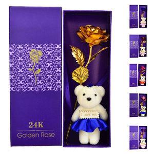 Zlatna Ruza -(Za rodjendan , Valentinovo , Poklon)