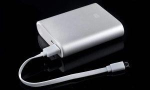 Powerbank 10400 mah sivi externa baterija