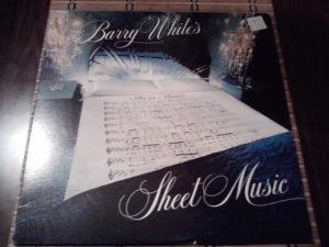 Barry White – Barry White's Sheet Music lp