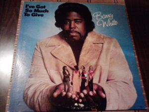 Barry White – I've Got So Much To Give lp