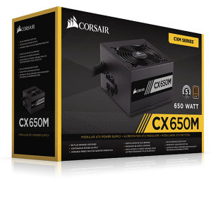 CORSAIR CX Series CX650M 80 Bronze