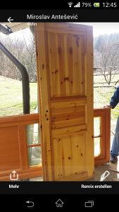 vrata puno drvo
