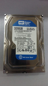 WD 3200AASJ 320GB