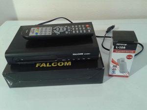 Falcom HD risiver (DVB-S2/ DVB-T2) sa LNB Amiko