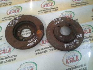 Prednji disk diskovi Polo 6K 1.6 B KRLE 16241