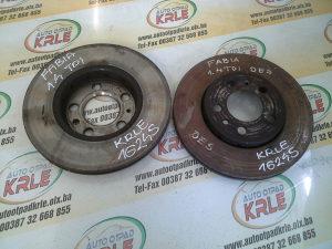 Prednji disk diskovi Fabia 1.4 TDI KRLE 16245