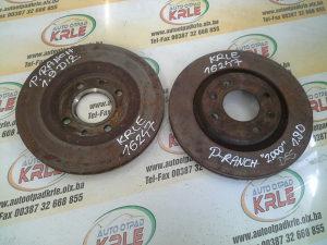 Prednji disk diskovi Peugeot Ranch 1.9 D KRLE 16247