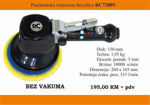 Pneumatska rotaciona brusilice RC7200