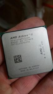 AMD Athlon II x3 3.1