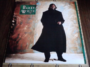 Barry White – Barry White: The Man Is Back! lp
