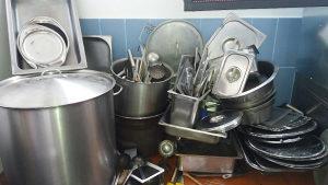 Ugostiteljsko posudje.Oprema za kuhinje