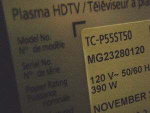Plazma Panasonic p55gt50,p55vt50 ili p55st50 razbijena!