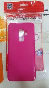 Roza gel maska Samsung S9 Plus