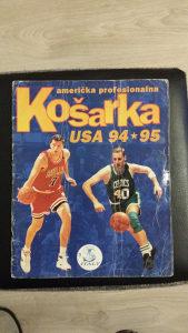 ALBUM SA SLIČICAMA KOŠARKA NBA 94/95 ISPUNJEN