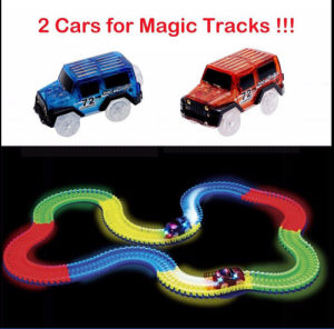 AKCIJA Auto magična 4.4 m. staza+2 autića,Magic tracks