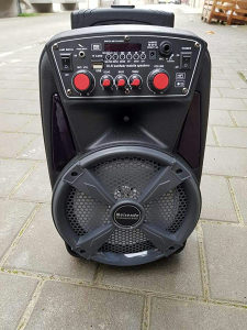 Karaoke zvucnik bluetooth sa mikrofonom